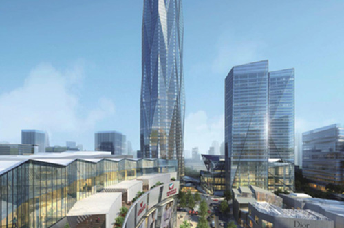 Chengdu Greenland Center 468 Project